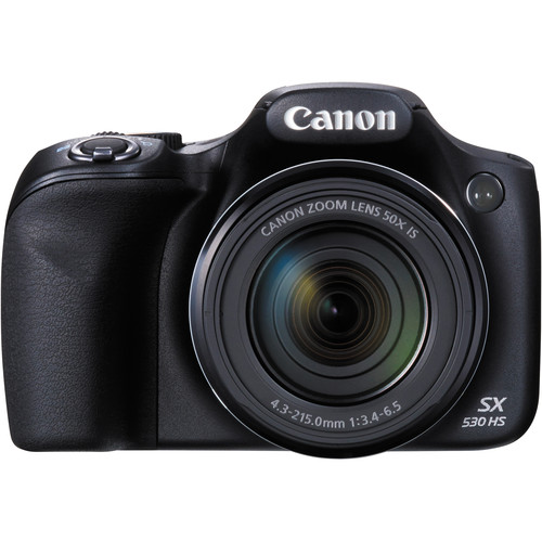 Canon PowerShot SX530 HS Digital Camera / 16MP / 50x Optical Zoom