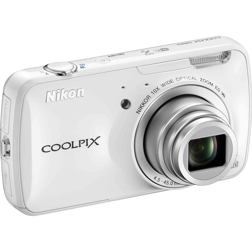 Nikon COOLPIXS800C COOLPIX Digital Camera 16MP / 10x Zoom / 3.5