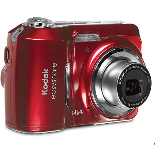 Kodak EasyShare C1530 Digital Camera 14MP / 3x Optical - Red