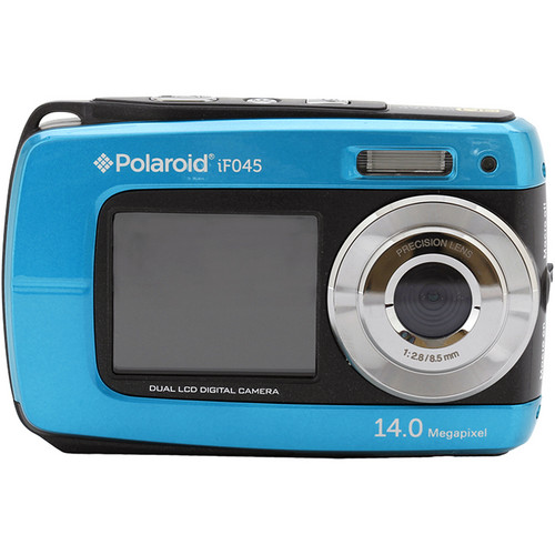 Polaroid iF045 Digital Camera - Blue