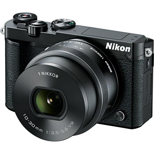 Nikon 1 J5 Mirrorless Digital Camera / 20.8MP / 10-30mm Lens - Black