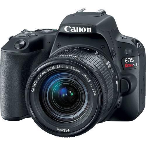 Canon REBELSL2EFS / 24.2 Megapixel / 18-55mm Lens EOS Rebel SL2 DSLR Camera - Black