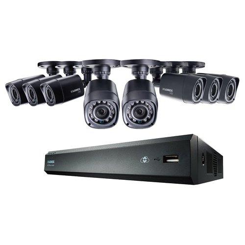 Lorex LHV00081TC8 8-Channel 1TB Cloud Connect with 8 x 720p HD Cameras - Black