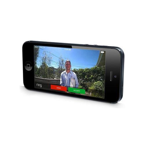 Ring Wi-Fi Smart Video Doorbell - Satin Nickel