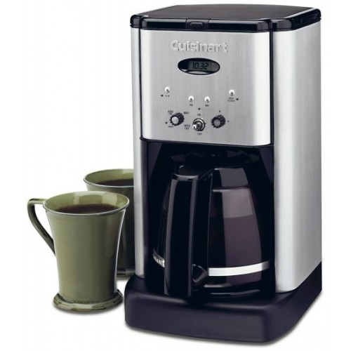 Cuisinart Brew Central 12-Cup Programmable Coffeemaker - Black/Silver 001WAY032E