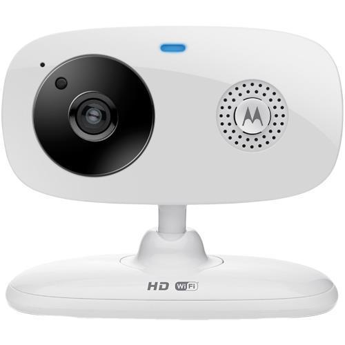Camera Bundle: Motorola Wi-Fi Home Monitoring Camera + Sunbeats Changing Colors LED Light Bulb with Bluetooth Speaker