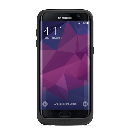 Mophie Juice Pack for Samsung Galaxy S7 Edge - Black
