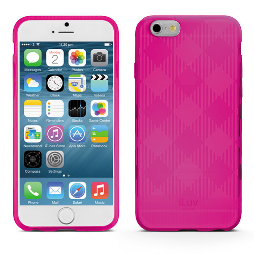iLuv Gelato Case for iPhone 6/6s - Pink