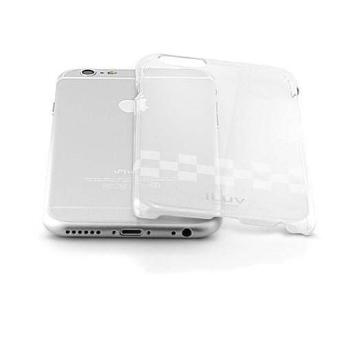 iLuv Gossamer Clear Hardshell Case for iPhone 6/6s