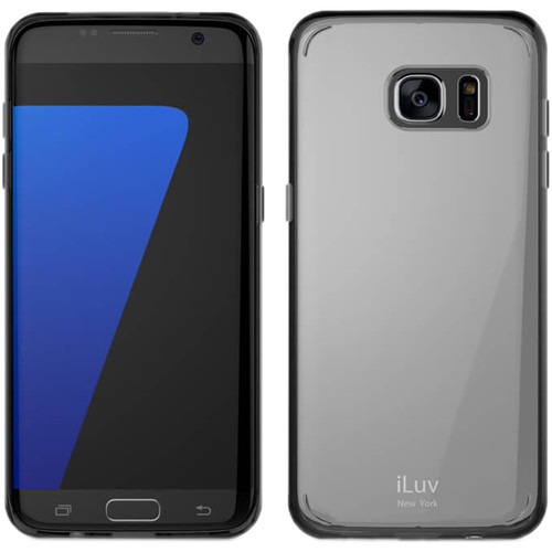 iLuv Vyneer Case for Galaxy S7 edge - Black