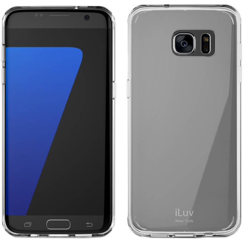 iLuv Vyneer Case for Galaxy S7 edge - Clear