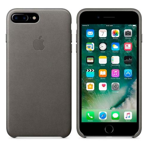 Apple® iPhone 7 Plus Leather Case - Storm Gray
