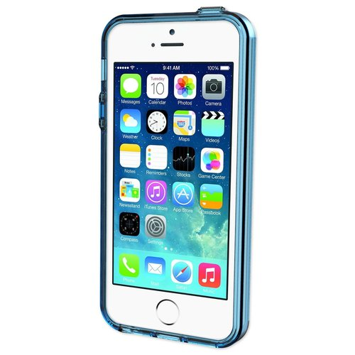 Qmadix C Series Cover Apple iPhone SE - Blue
