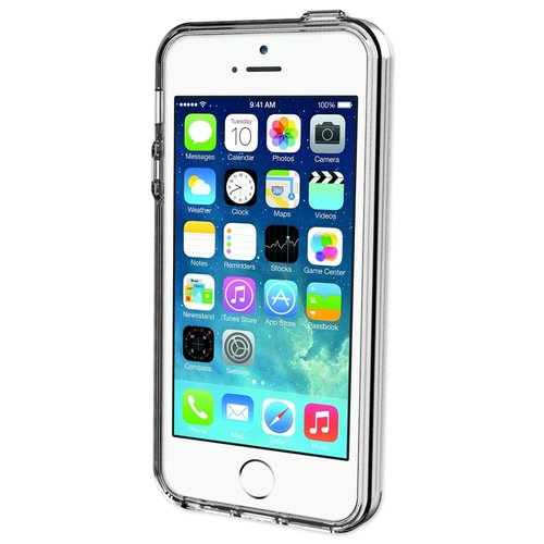 Qmadix C Series Cover Apple iPhone SE - Clear