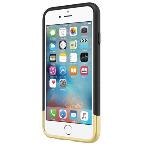 Incipio iPhone 6/6s Edge Chrome Case - Black/Gold
