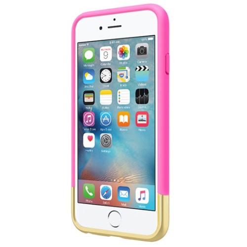 Incipio iPhone 6/6s Edge Chrome Case - Pink/Gold
