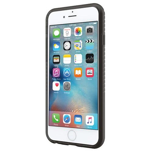 Incipio iPhone 6/6s Twill Block Flexible Impact-Resistant Case - Black