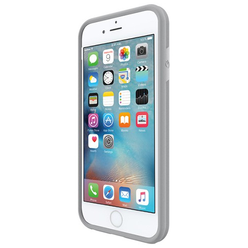 Incipio iPhone 6/6s Performance Series Level 2 Dual Layered Drop Protection Cover - White/Light Gray