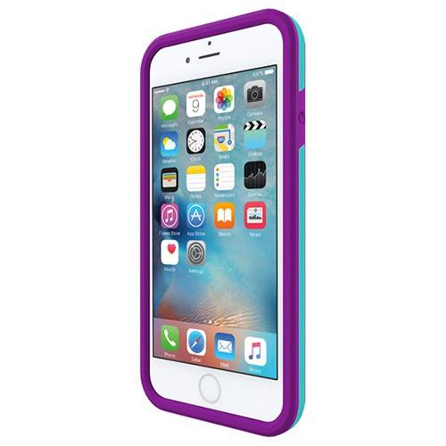 Incipio iPhone 6/6s Performance Series Level 3 Superior Drop Protection Case - Purple/Teal