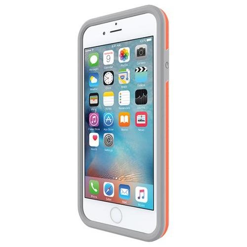 Incipio iPhone 6/6s Performance Series Level 3 Superior Drop Protection Case - White/Orange