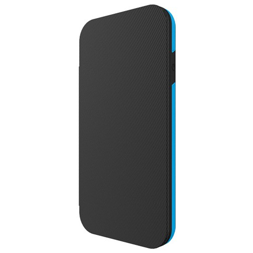 Incipio iPhone 6/6s Performance Series Level 3 Superior Drop Protection with Storage Case - Black/Cyan