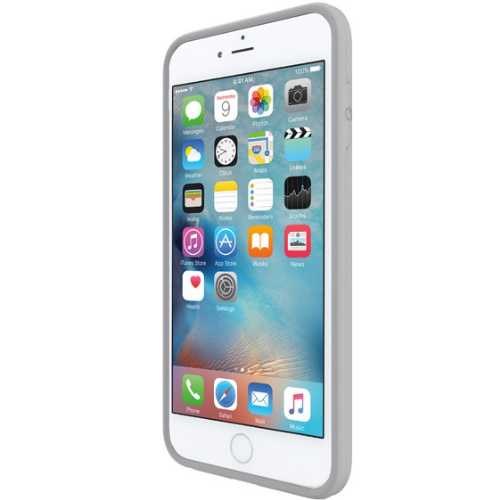 Incipio iPhone 6/6s Plus Performance Series Level 2 Dual Layered Drop Protection Case - White/Light Gray
