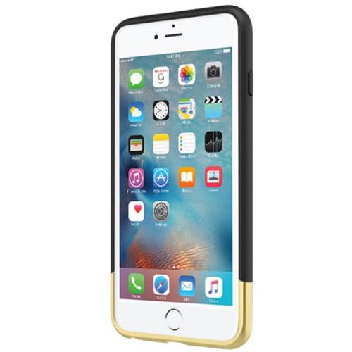 Incipio Apple iPhone 6/6s Plus Edge Chrome Case - Black/Gold