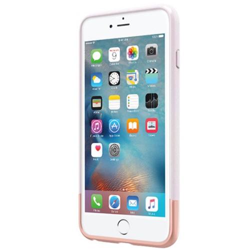 Incipio Apple iPhone 6/6s Plus Edge Chrome Case - Iridescent White/Rose Gold