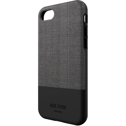Jack Spade Color Block Case for iPhone 7 - Oxford Gray