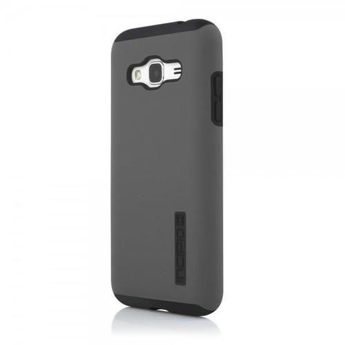 Incipio Hard Shell Case with Impact-Absorbing Core for Samsung Galaxy J3 - Gray / Black