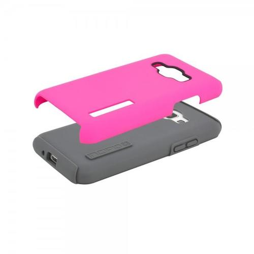 Incipio DualPro Hard Shell Case with Impact-Absorbing Core for Samsung Galaxy J1 - Pink