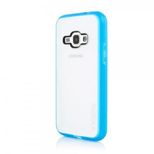 Incipio Octane Co-Molded Impact Absorbing Case for Samsung Galaxy J1 - Frost / Cyan
