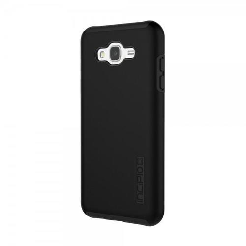 Incipio DualPro Hard Shell Case with Impact-Absorbing Core for Samsung Galaxy J7 - Black