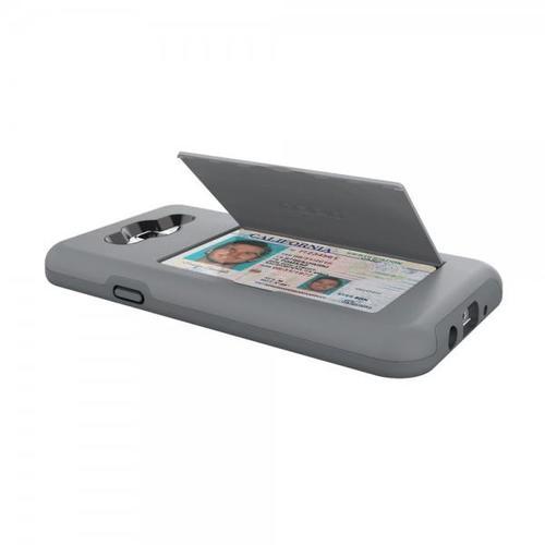 Incipio Stoaway Wallet Case with Kickstand for Samsung Galaxy J7 - Gray