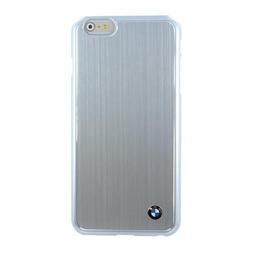 BMW Brushed Aluminium iPhone 6S Plus / 6 Plus Hard Case - Silver