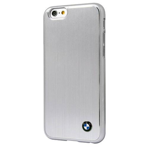 BMW iPhone 6/6S Brushed Aluminium Hard Case - Silver