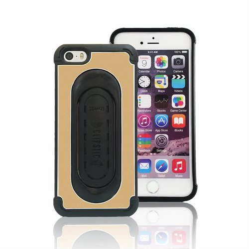 Scooch Clipstic Pro Apple iPhone 5/5S/SE Protective Case - Gold