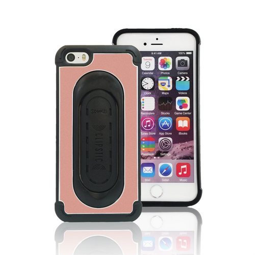 Scooch Clipstic Pro Apple iPhone 5/5S/SE Protective Case - Rose Gold