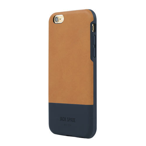 Jack Spade iPhone 6 Plus and 6s Plus Case - Tan/Navy
