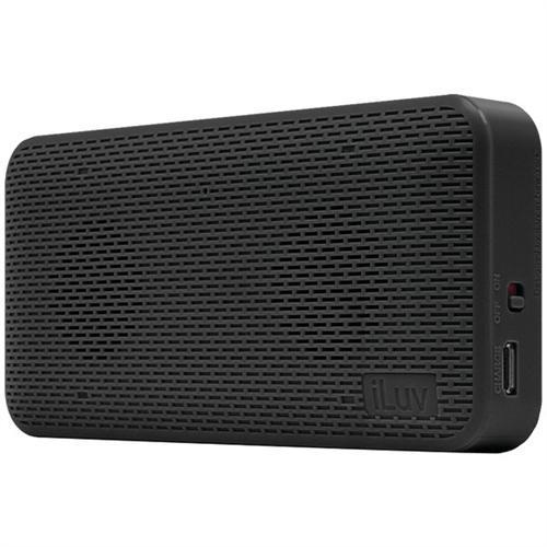 iLuv AudMINI Portable Bluetooth Speaker - Black