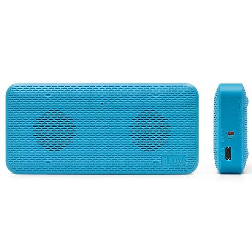iLuv AudMINI Portable Bluetooth Speaker - Blue