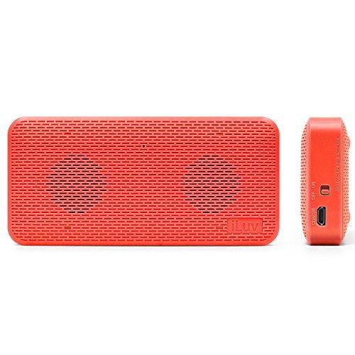 iLuv Portable Slim Bluetooth Wireless Speaker - Pink