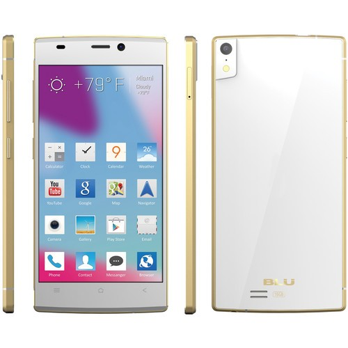 Blu Vivo IV D970L / 16GB / 1.7 GHz Cell Phone (Unlocked) - White / Gold