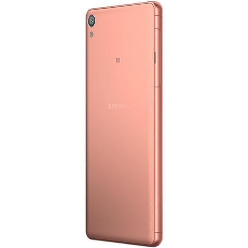 """Sony Xperia XA F3113 5"""" / 16GB Cell Phone (Unlocked) - Rose Gold"""