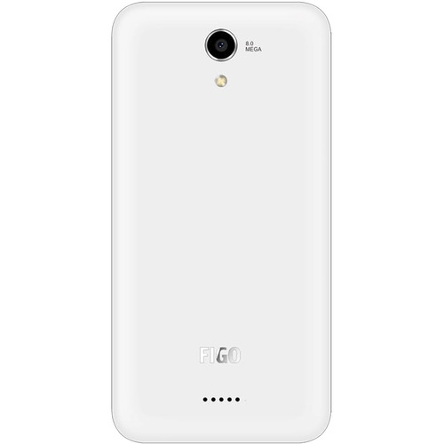 "FiGO Epic 5.0"" 8GB LTE Cell Phone (Unlocked) - White 20T-S16-EPIC5.0F50GW"