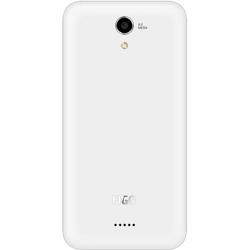 "FiGO Epic 5.0"" 8GB LTE Cell Phone (Unlocked) - White"