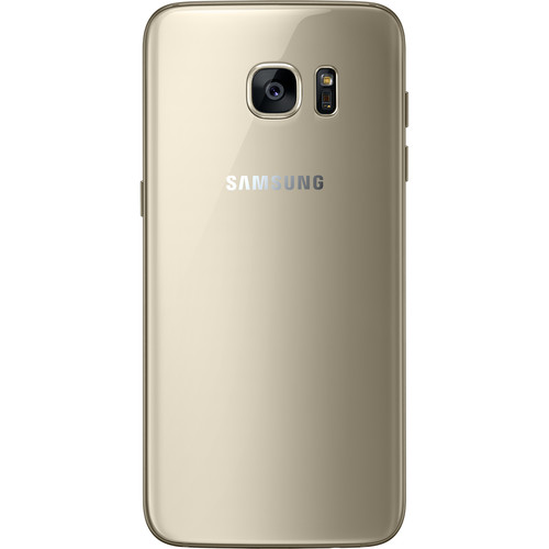 "Samsung Galaxy S7 edge 5.5"" / 32GB LTE Cell Phone (Unlocked) - Gold"