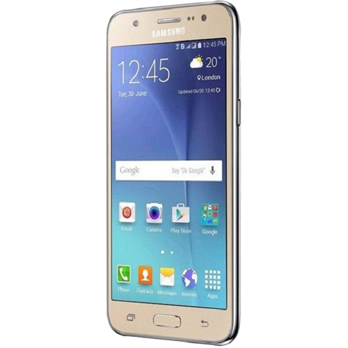 "Samsung Galaxy J5 J500M 5.0"" / 8GB LTE Cell Phone (Unlocked) - Gold"