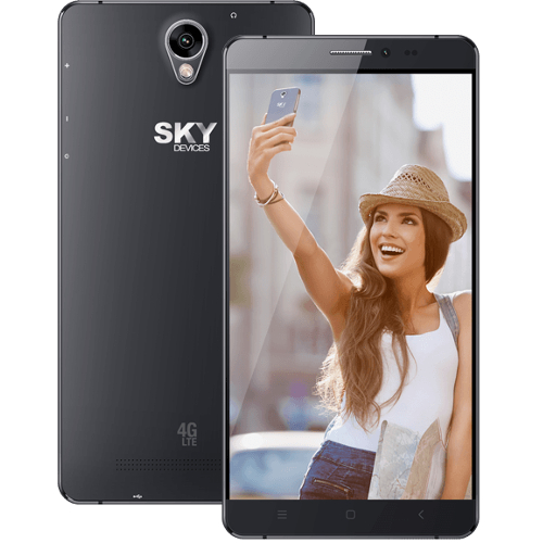 "Sky 6.0L 6.0"" / 8GB / 1.3GHz LTE Cell Phone (Unlocked) - Black"