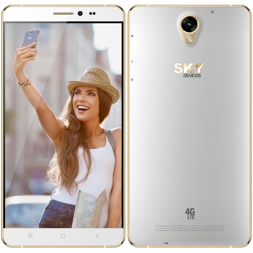 "Sky 6.0L 6.0"" / 8GB / 1.3GHz LTE Cell Phone (Unlocked) - Gold"